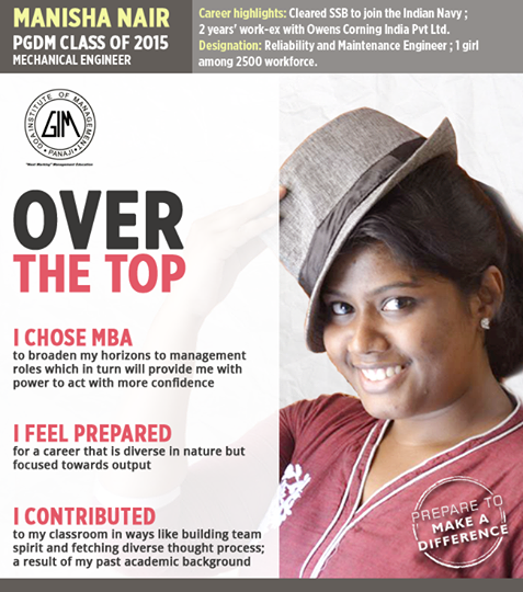 Over the Top – Goa Institute of Mgmt