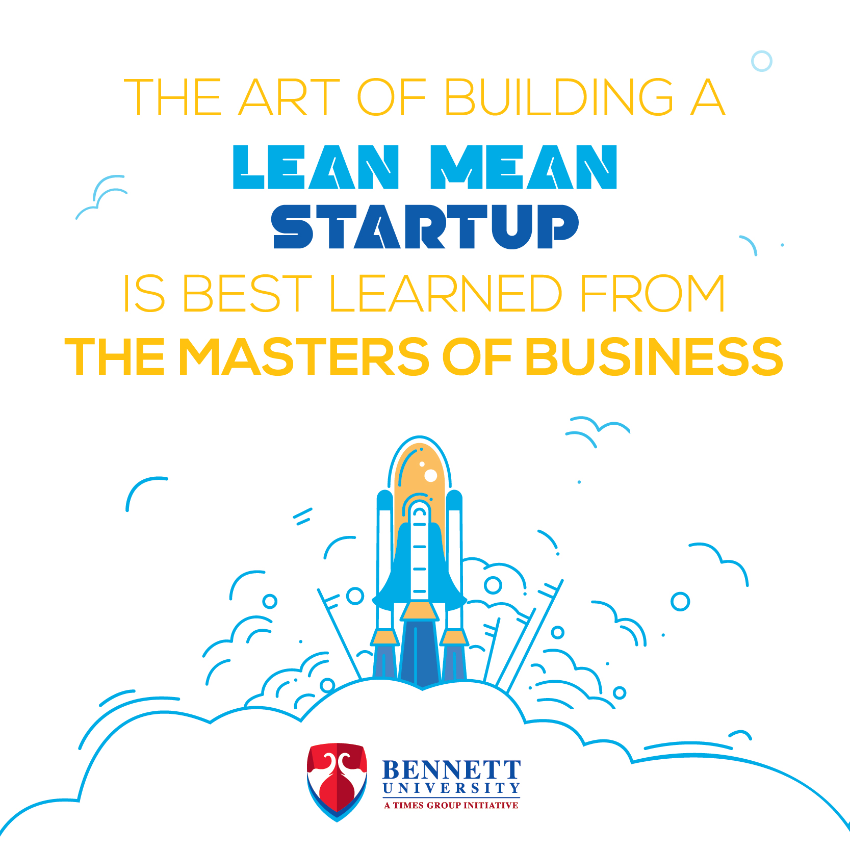 Lean Mean Start-up, Bennett University