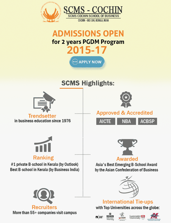 SCMS Admissions Open Emailer